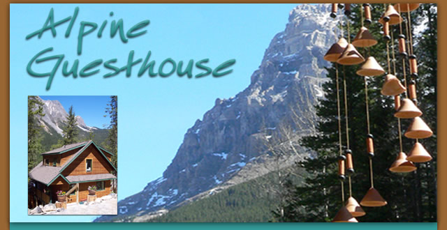 The Alpine Guesthouse in Field, British Columbia, Canada